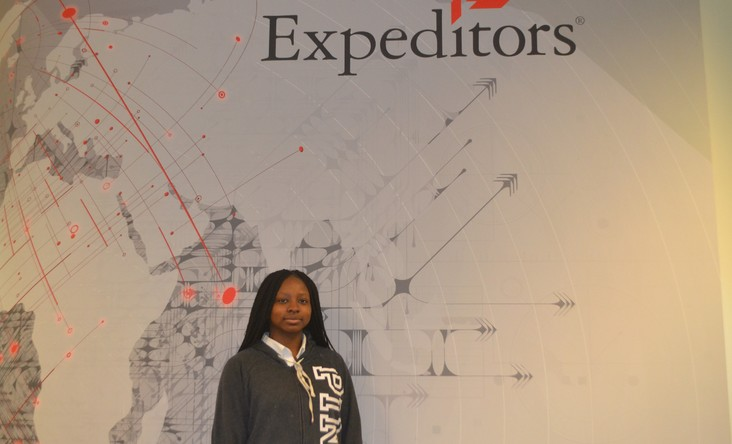 Expeditors International: Meet Jayla Vinson '21